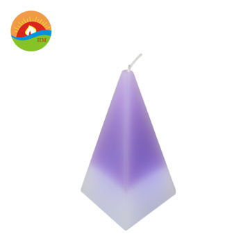 led flickering cone wax candles for