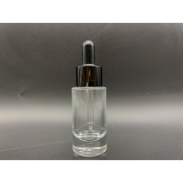 35ml cylindrical glass dropper bottle for cosmetic essence