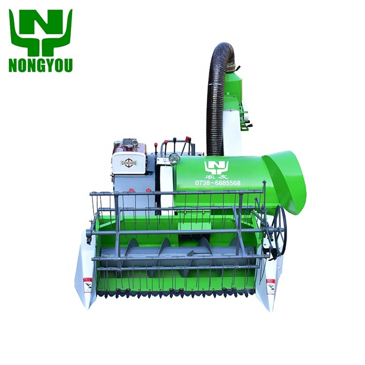 Factory Supplier Mini Rice Harvester for Sale 4LZ-1.0