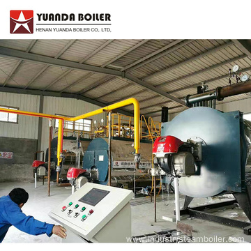 Oil Fuel Thermal Oil Boiler for Gloves Factory