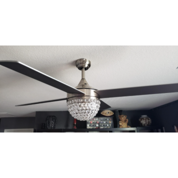 Premium Quality 4 Blades 52 Inches Decorative Ceiling Fan with LED Light