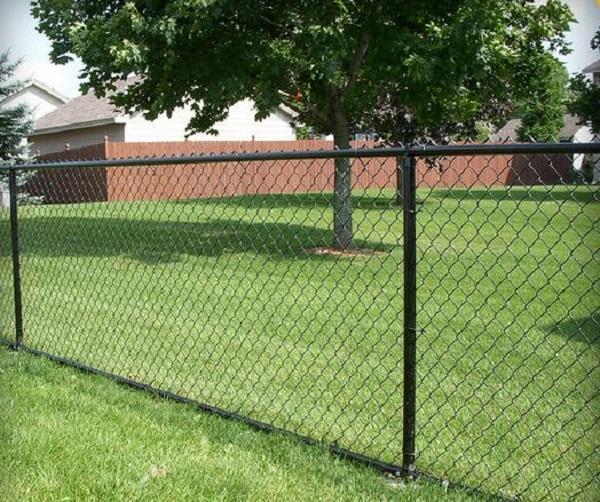 PVC Coated Galvanized Chain Link Wire Mesh Used Chain Link Fence