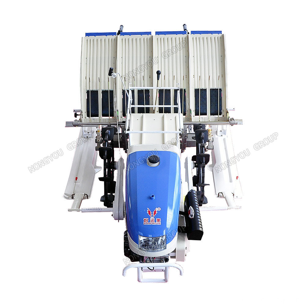 4 Rows Rice Transplanter Seedling Planting Machine