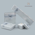 Foam insert small silver necklace packaging box