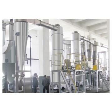 Cassava Strach Metal Component Spin Flash Dryer for South Africa Market