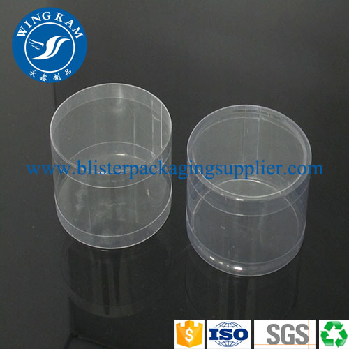 Round Container Clear Tube Packaging