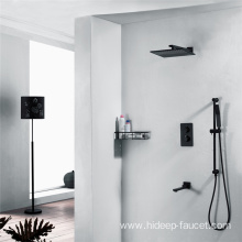 Three Function Thermostatic Brass Shower Faucet