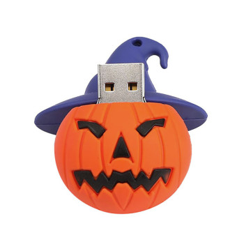 Pumpkin Halloween USB Flash Drive