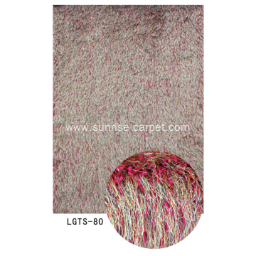 Elastic & Silk Mix Shaggy Carpet
