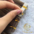 Balayage remy cuticle tape in hair extensions