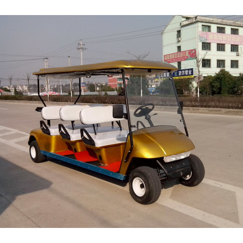 6 passenger battery operated electrical golf carts for sale