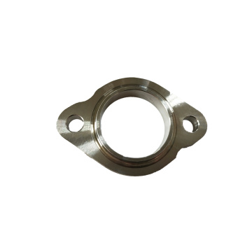 Customized CNC Machined Steel Flange Part