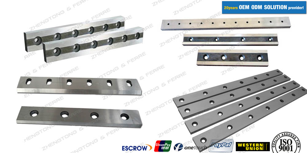 shear machine blades for metal converting industry