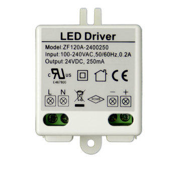 6W 24V Plastic Case DC LED Power Driver