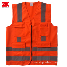 Shot sleeve polyester traffic reflective cloth