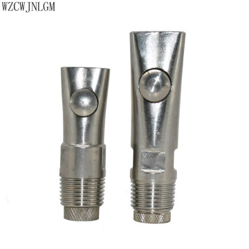 1 Pcs Pig Stainless Steel Automatic Waterers Nipple Animal Drinkers Livestock Equipment Livestock supplies