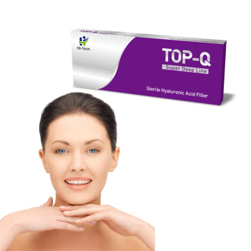 Best hyaluronic acid products TOP-Q Deep Line non-animal stabilized HA Fillers for cheek filing