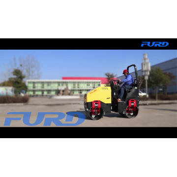 2 Ton Ride-on Asphalt Vibratory Road Roller Compactor For Sale FYL-900