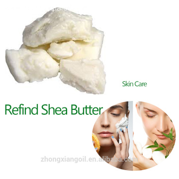 Cosmetic Lipstick Raw Material Cold Pressed Shea Butter