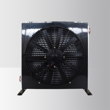 24V hydraulic oil cooler with fan