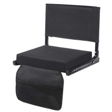 Black Padded Cushion Stadium Seats for Bleacher
