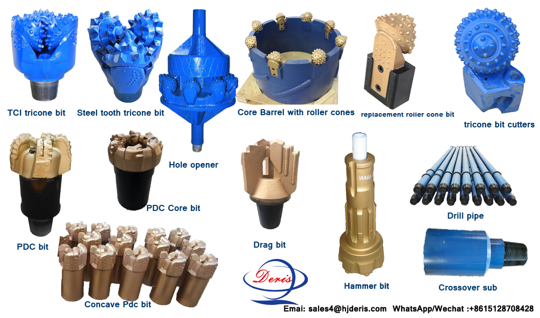 tricone roller bit for oil well drilling
