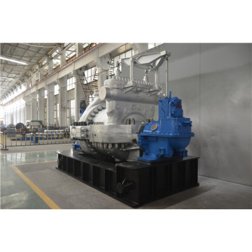 2MW Oil tank as base plate steam turbine