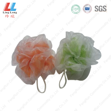 Silk lace mesh double effect sponge
