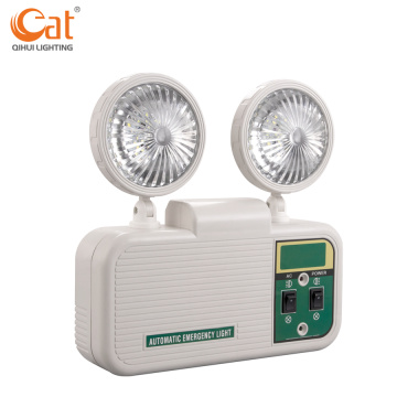 Automatic two-head LED emergency light