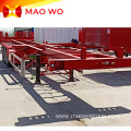 Widely Used Tri-axles 20ft 40ft Skeleton Trailer