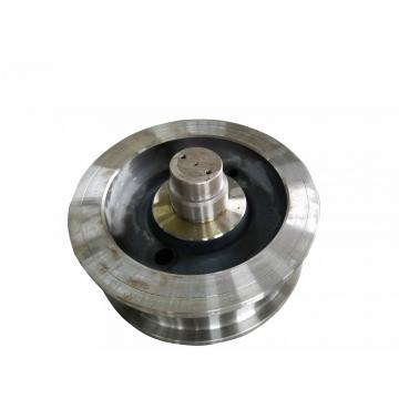 customized forging steel double flange crane wheel