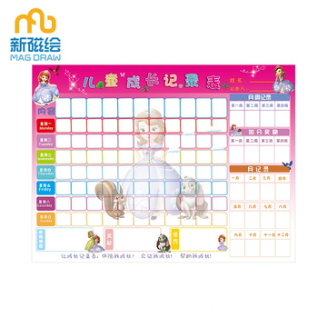 Magnetic Chore Reward Board voor Toddler Good Behavior