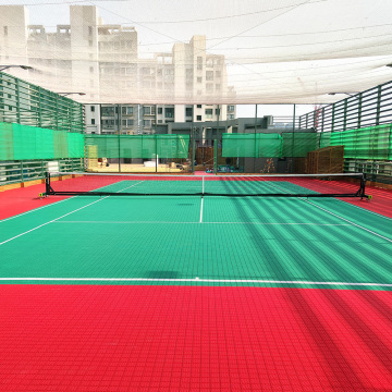 ITF approved playground interlocking sports tiles floor