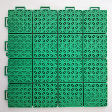 Basketball flooring outdoor modular interlocking tiles