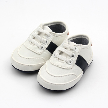 White Walking Shoelace Baby Sports Shoes