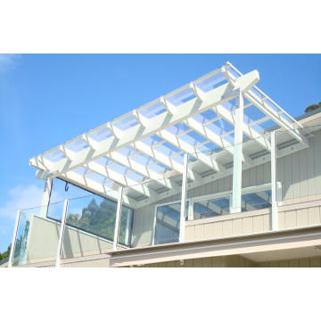 Polycarbonate sheet anti scratch awning board