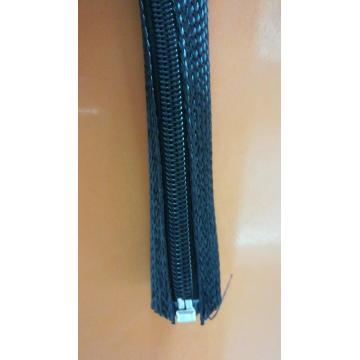 Zipper Sleeve Braided Cable Wrap