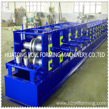 mould punching C purlin roll forming machine