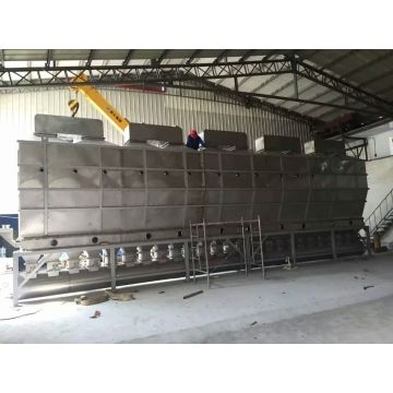 Xf Series Horizontal Fluidizing Drying Machine for Potassium Sulfate