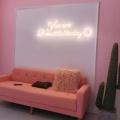 LED NEON SIGN ON YOUR HOME WALL