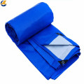 Durable blue PE laminated tarpaulin