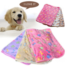 Dog Mat Soft Coral fleece Winter Warm Cushion Bed Blanket Sofa Tray Carrier Mattress For Small Medium Large Cat Pet Accessories