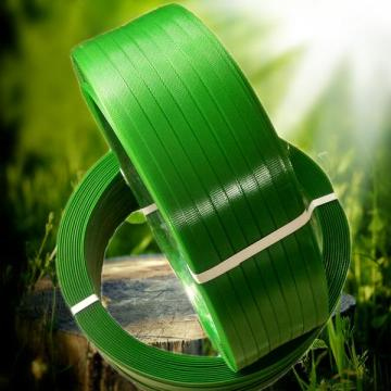 19mm Green PET Strapping For Cargo Packing