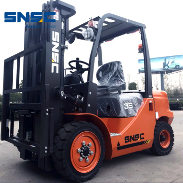 3.5Tons Diesel Powered Container Forklift