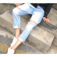 2020 autumn new jeans women's tights women's jeans