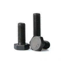 Black oxide Hex Bolt DIN
