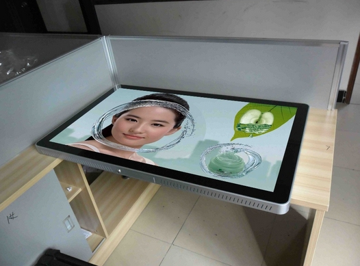32 42 47 55''65 inch wall mounted wifi touch screen HD LCD Advertising Optoelectronic Displays totem kiosk digital signage pc