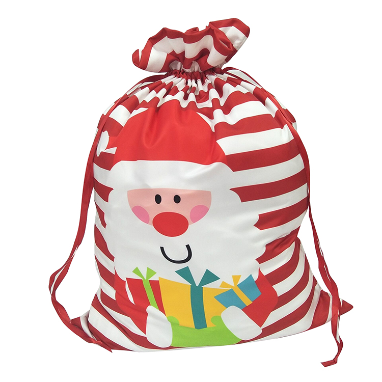 Christmas Printed Santa Claus Sack