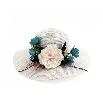 Wholesale large brim summer straw hat