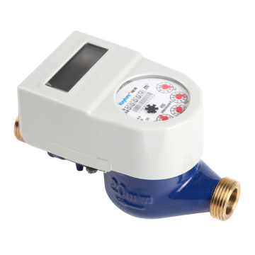 IC Card Ball Valve Brass Water Meter